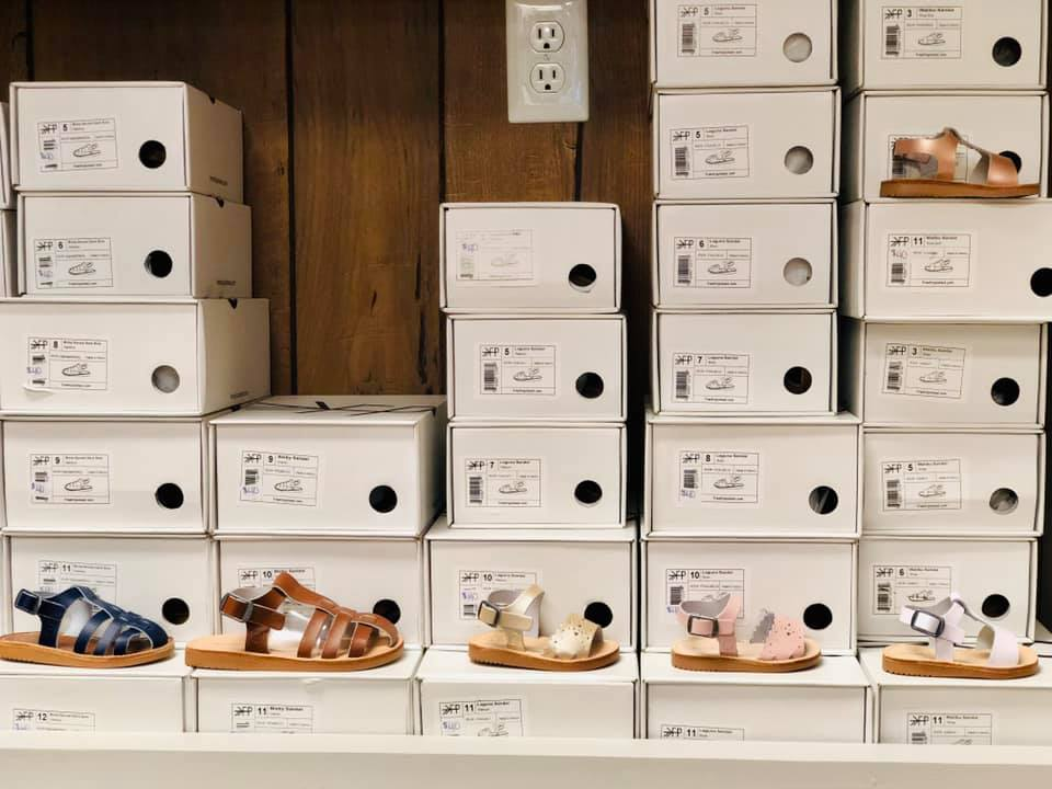 Find shoes for the little ones at Chasing Poppies