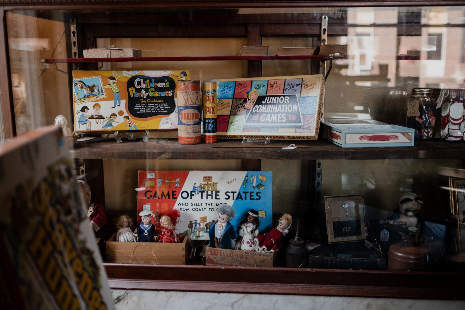 You're sure to find some great classic games at Monk's Habit