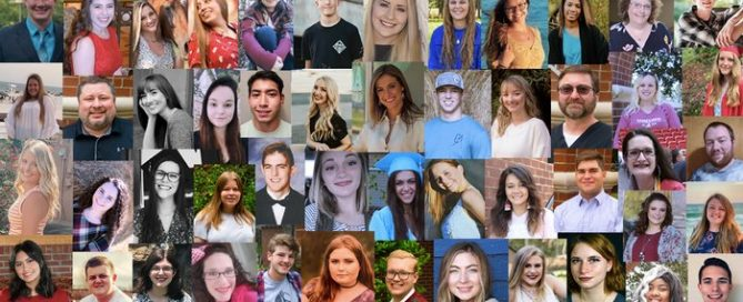 Pictured are the 2020-2021 private funded scholarship recipients.