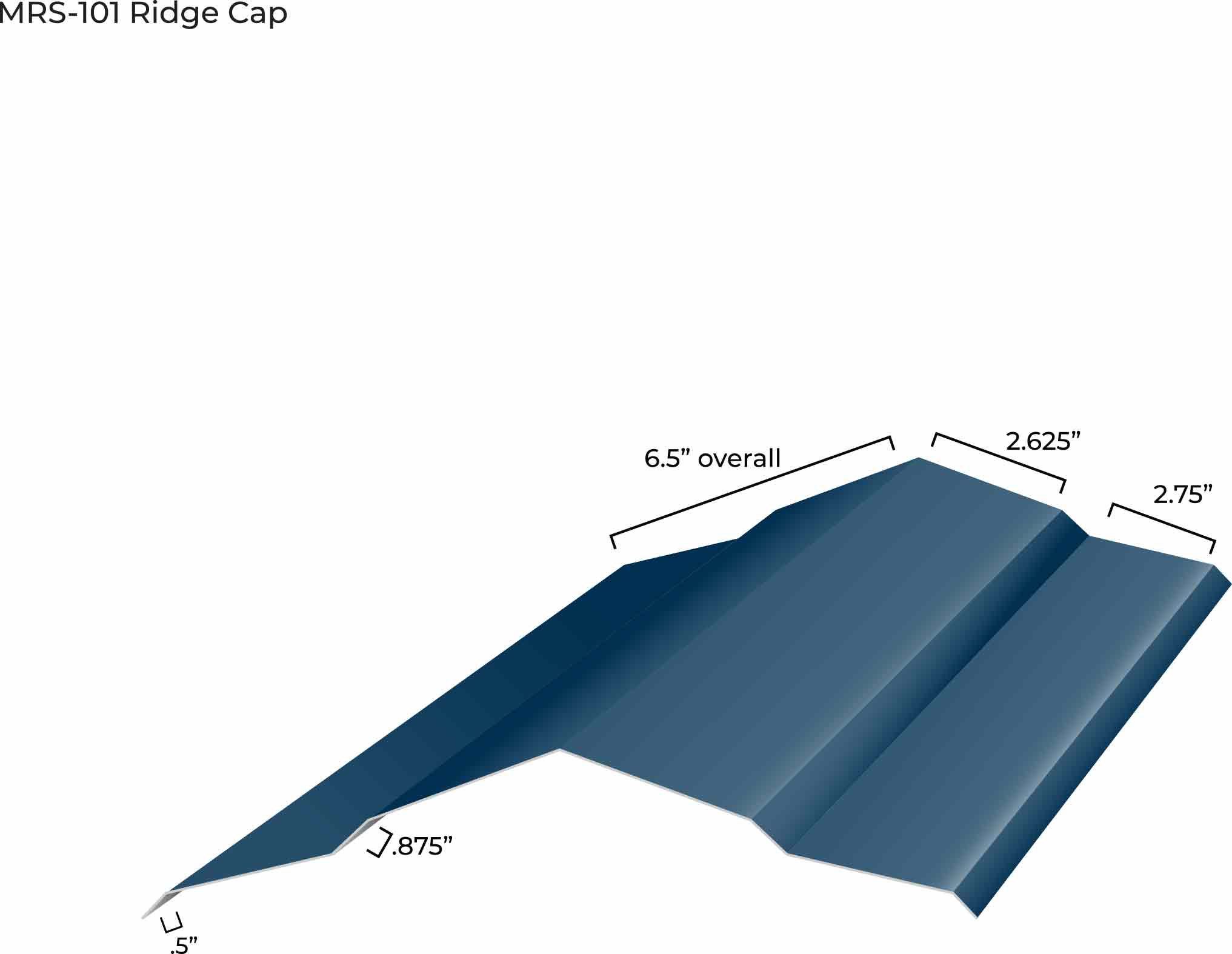 MRS-101 Ridge Cap