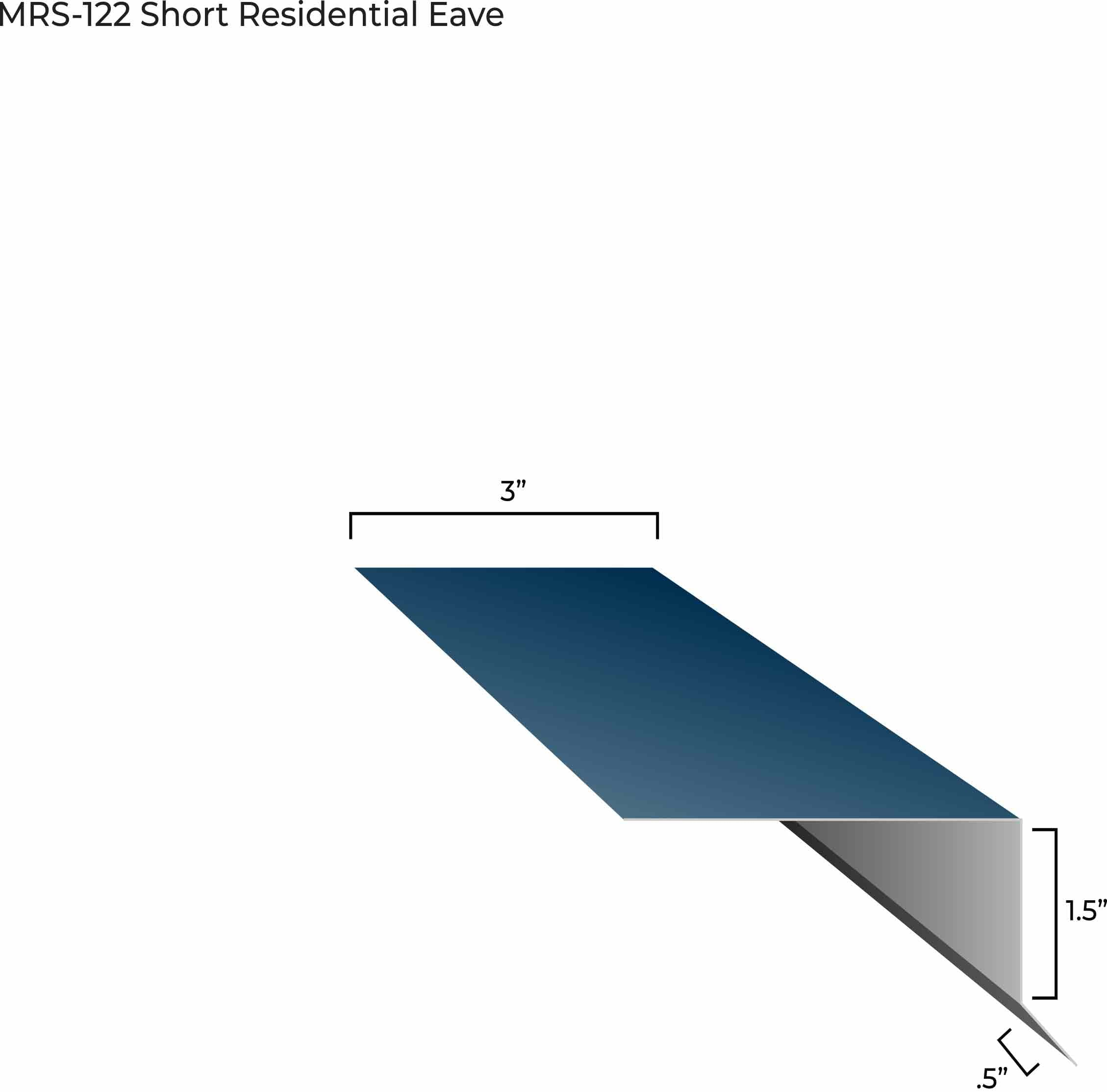 MRS-122 Short Residential Eave